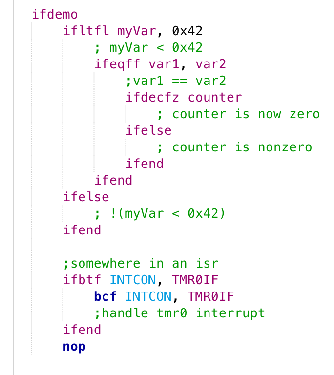 From the Archives: Hacking Microcontroller Assembler Macros to