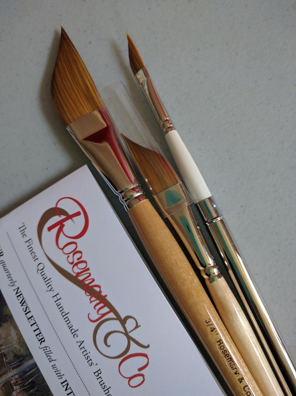 Rosemary & CO dagger brushes