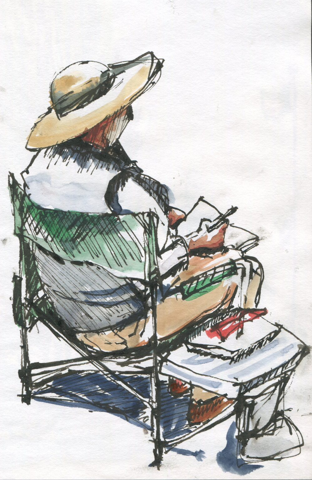 sketch of sketcher