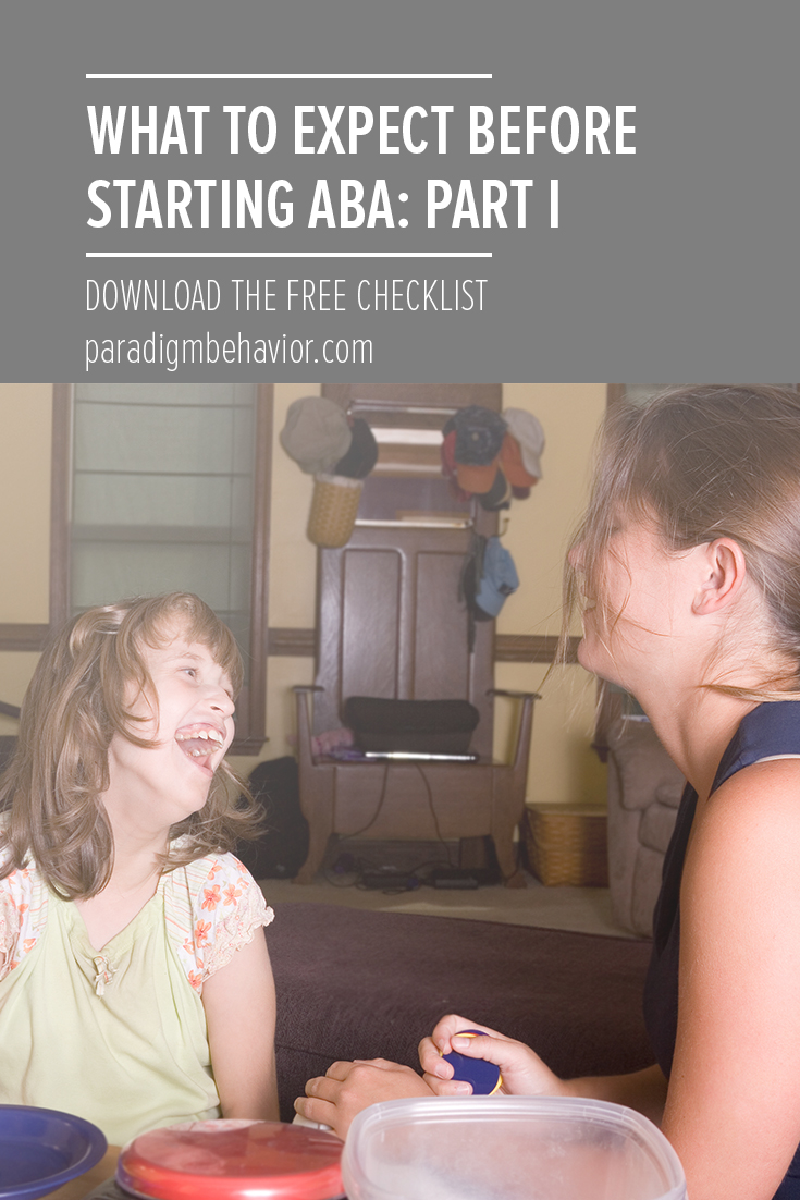 what to expect before starting aba: part I