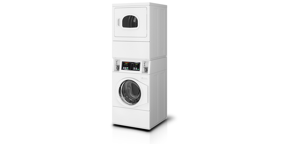 Speed Queen Vended Stack Washer and Dryer