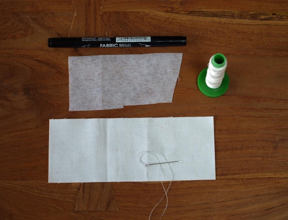 Quilt label materials