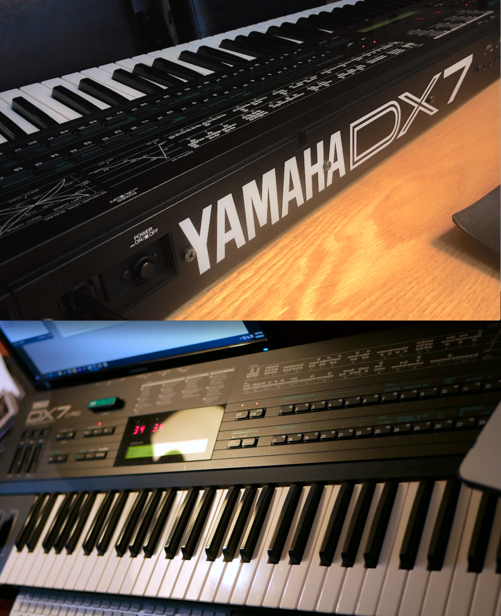 *THE* iconic synth of the 80's - a top-of-the-line Yamaha DX7IIFD in stunningly mint condition - not a scratch or dent anywhere! The equivalent of 2 original DX7's in one keyboard, with more polyphony, more memory, stereo outputs and much better sound quality - and still one of the best-feeling key beds ever made. This one could be a museum piece in this condition - quite a rare find. Asking $600 plus shipping. Email gear4sale@charter.net