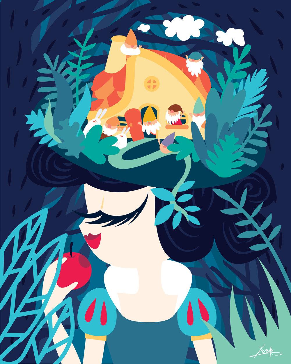Copy of My Pretty Pretty Hat - Snow White