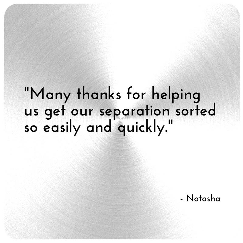 Testimonial for Modern Separations