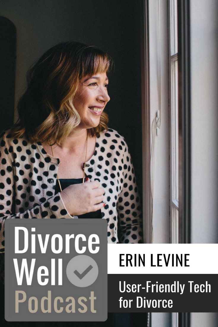 Divorce Well Podcast. Erin Levine
