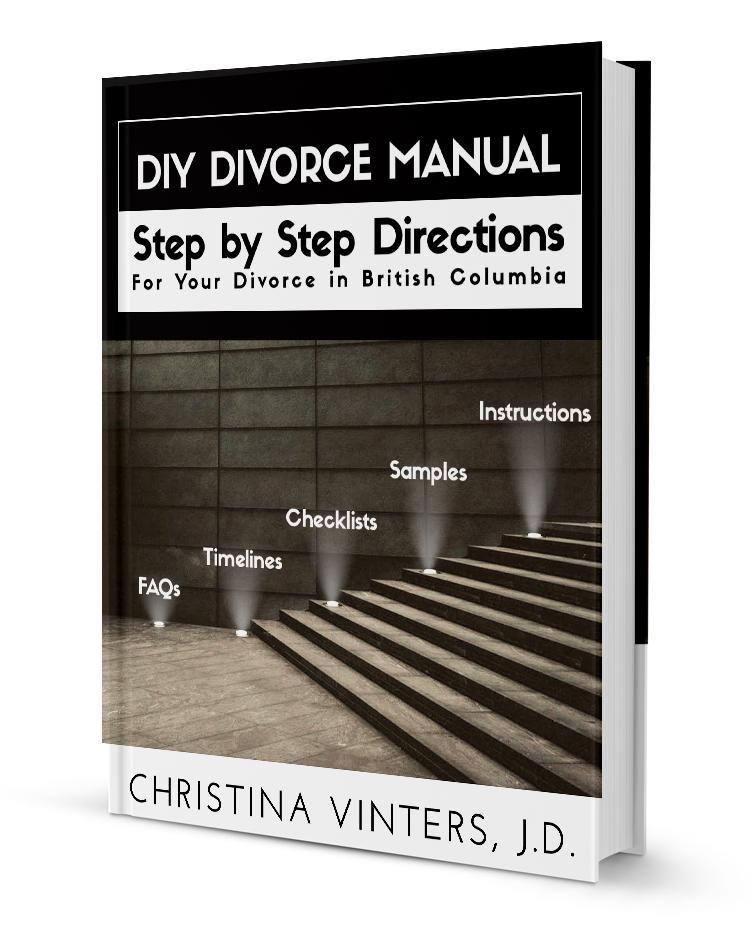 DIY Divorce Manual divorce kit in British Columbia at www.modernseparations.com/divorce