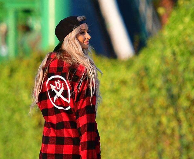 Trust your journey. 🚀 @julyajayne in our Lumberjack Flannel. #Krawl #Foreverkid #Fuelthefuture Available NOW! 👇🏼 www.KRAWLLOCO.com 10% of apparel profit goes to the kids.