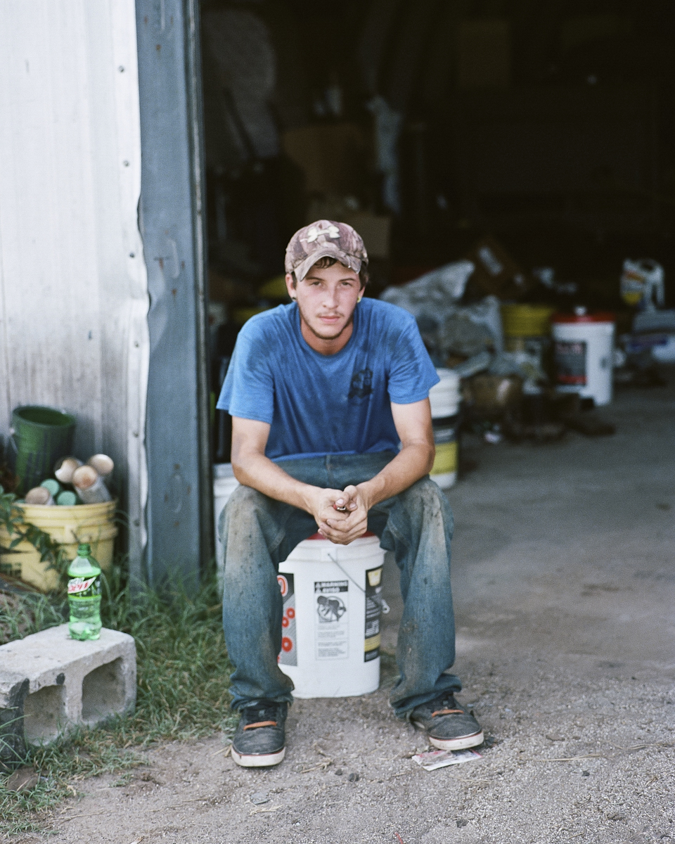 Jenna Miller,  James at Drigger's Farms, 2014