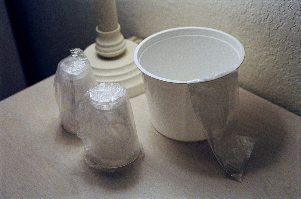 Michelle Moezam, Cups & Ice Bucket, 2013