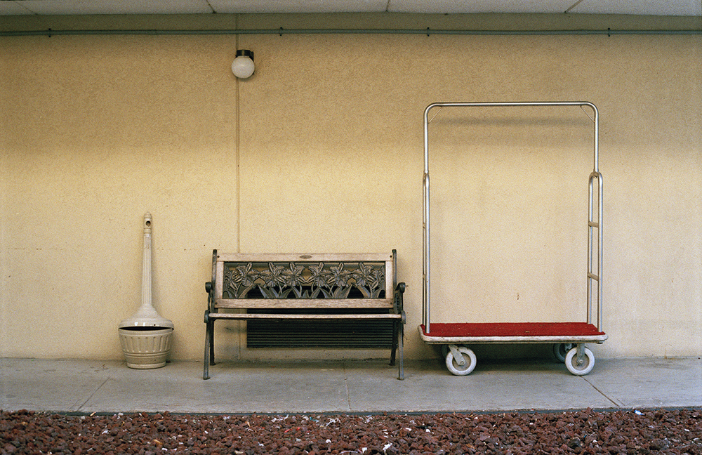 Michelle Moezam, Smoke, Bench, Dolly, 2013