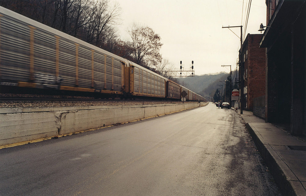Sandy Sorlien, Main Street, Davy, West Virginia, 2009