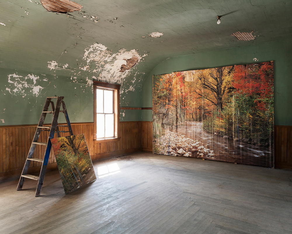 Jennifer Garza-Cuen, Backdrop, Eden, VT, 2014