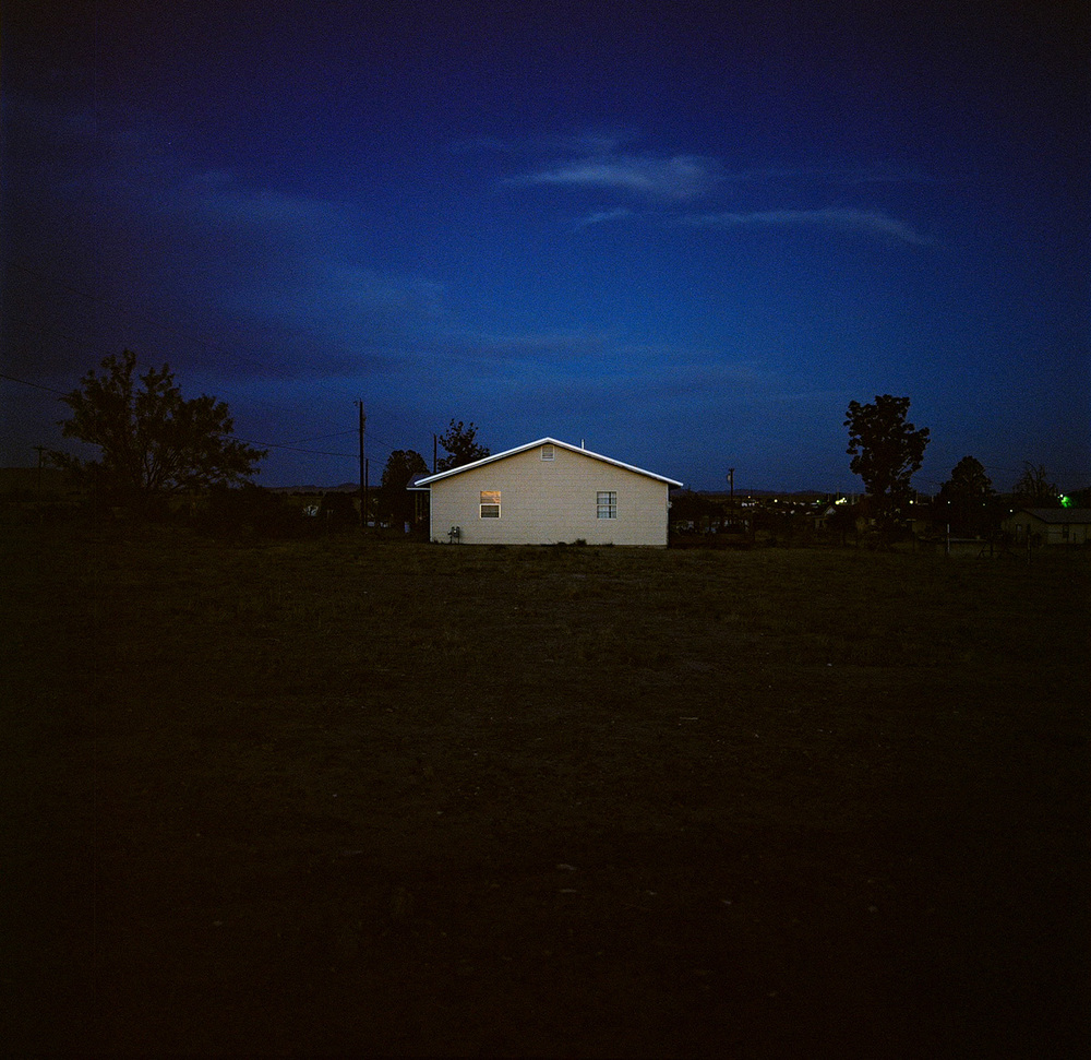 Allison V. Smith, Yellow house. Marfa, Texas, 2014