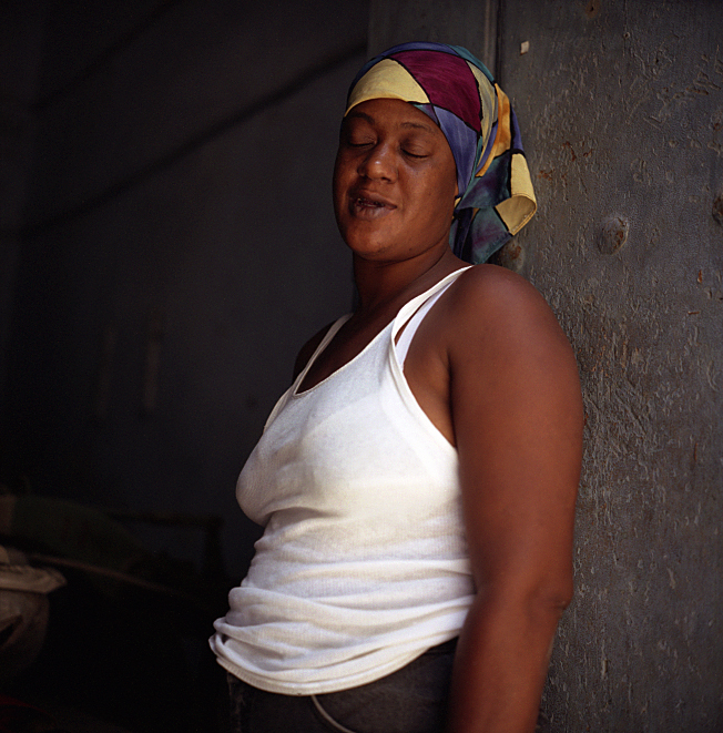 Elin O'Hara Slavick, Workers Dreaming, Hilda M. Vazquez Rosquette, Laundress and Cashier, Havana, Cuba, 2003