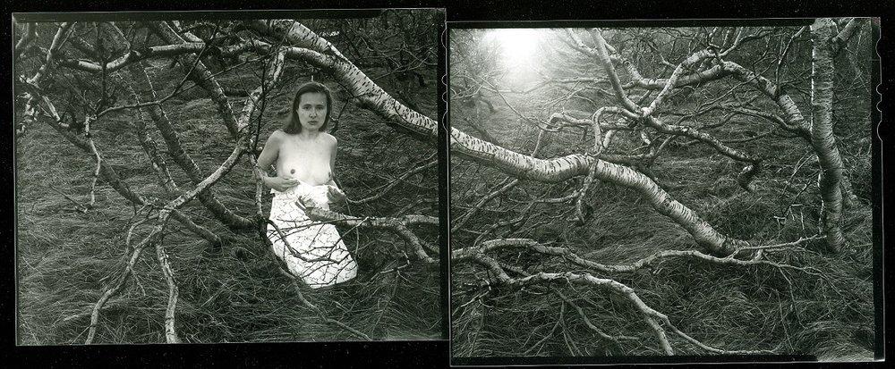 Agnieszka Sosnowska, Nude. Self Portrait. Egilsstaðir, Iceland.