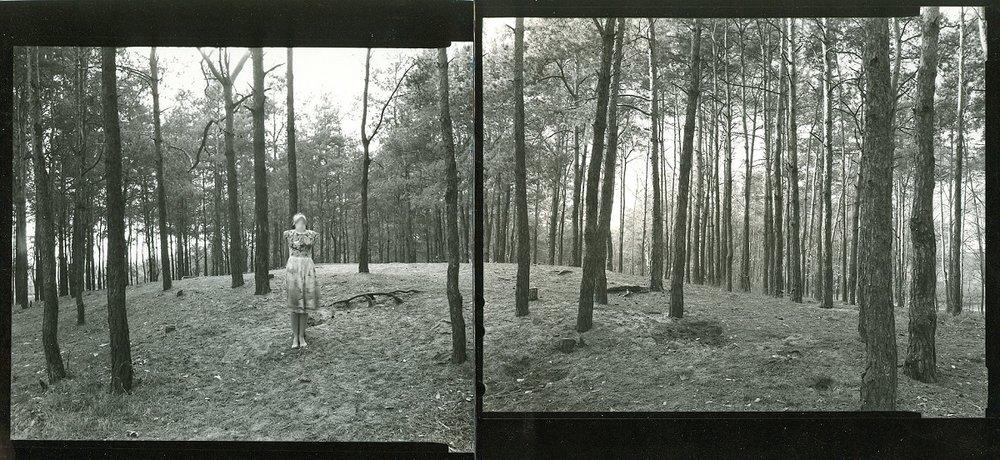 Agnieszka Sosnowska, Posture. Self Portrait. Rembertów, Poland. 1997.