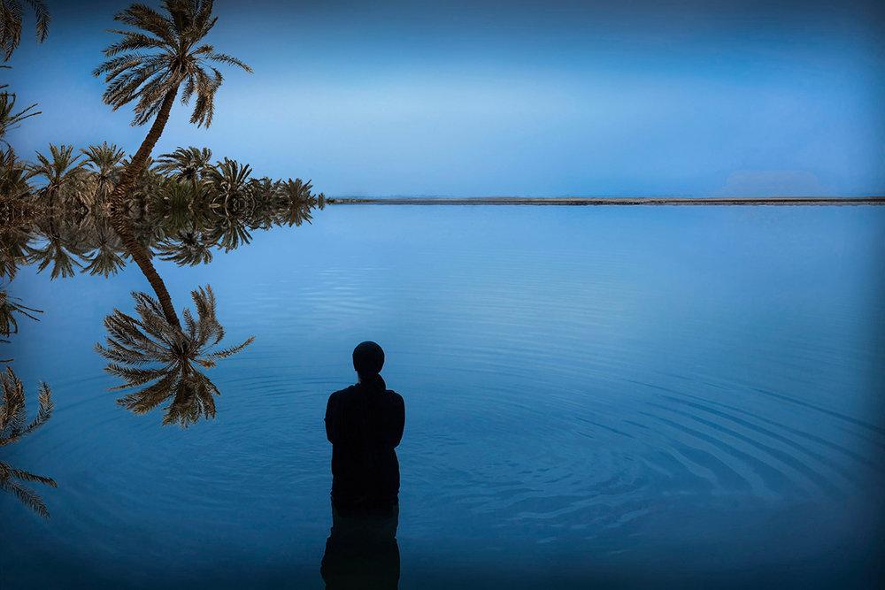 1.Sama Alshaibi, Birket Siwa (Siwa Lake), 2014