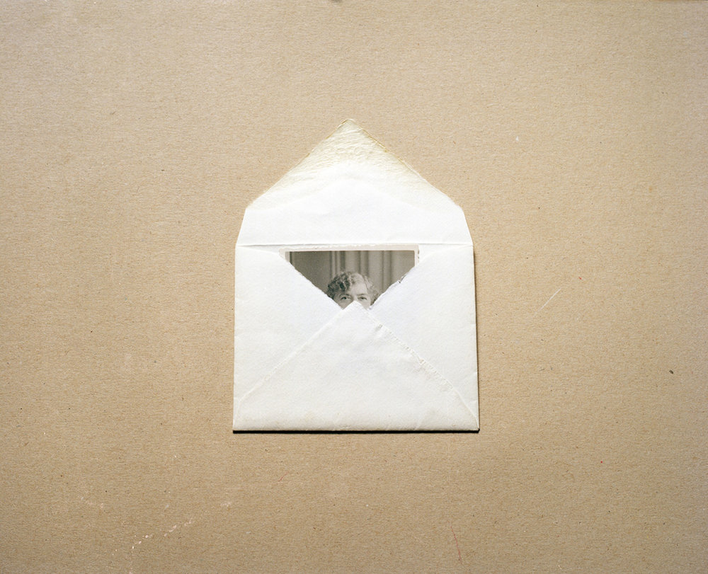 Dana Stirling, Lady in Envelope, 2012