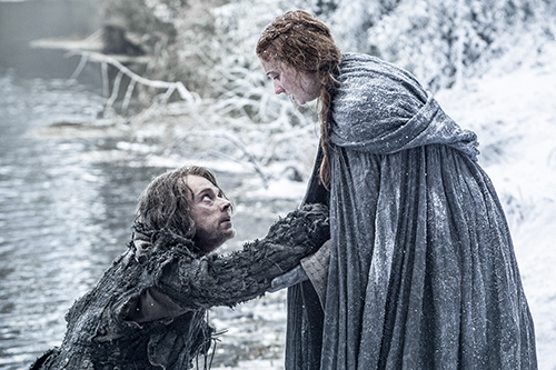 Sansa & Theon