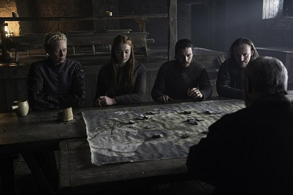 Sansa and Jon battle plans