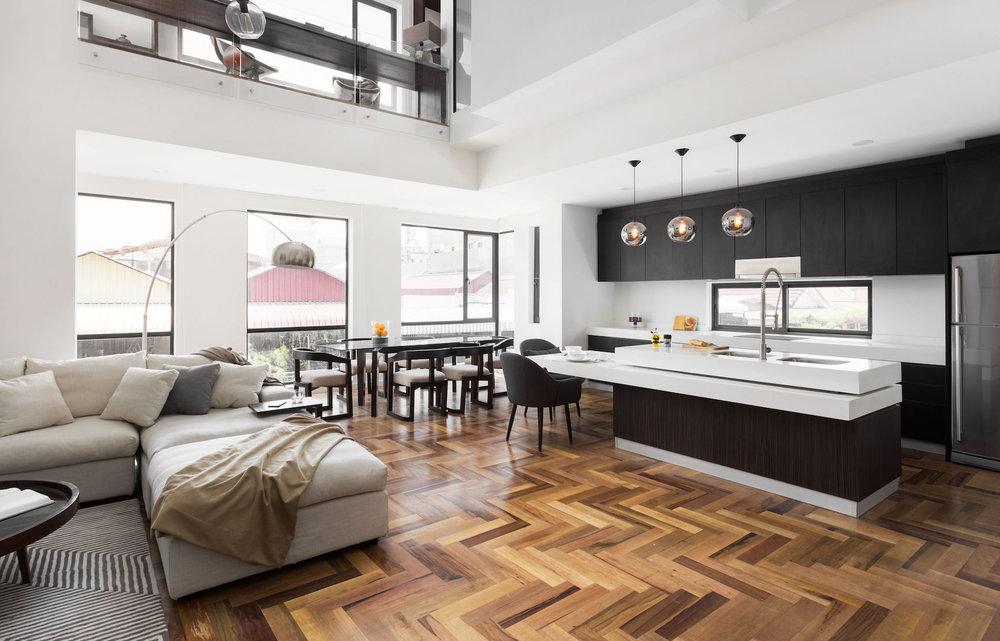 3 Bedroom Duplex Lounge Dining Kitchenhabitat Condos Property
