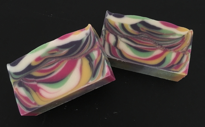 "Tiger Stripe scented with ""Energy"" Fragrance Oil"