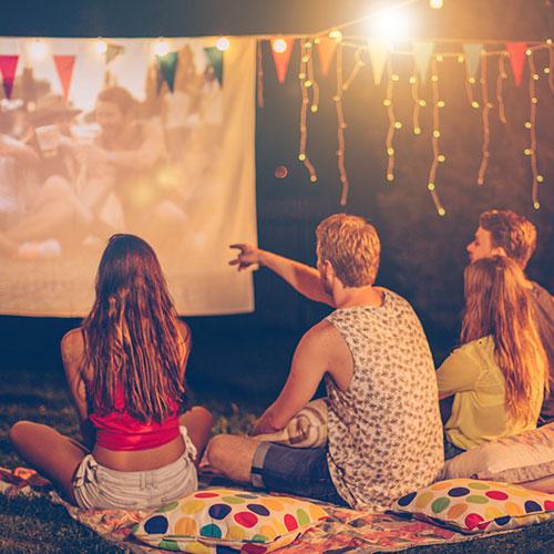 Backyard Movie Night -