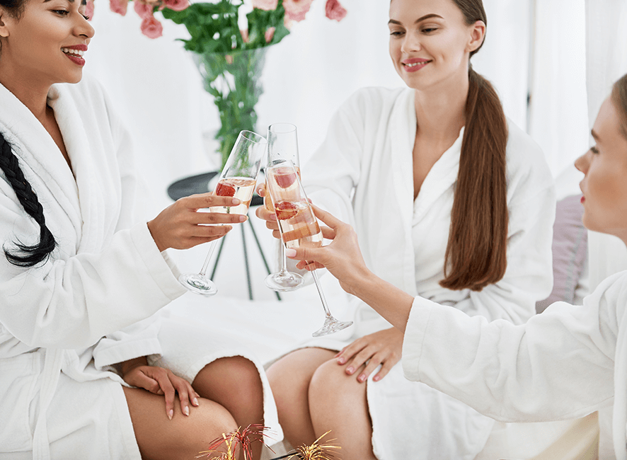 Hens Parties - Cheers to the pampered bride.png