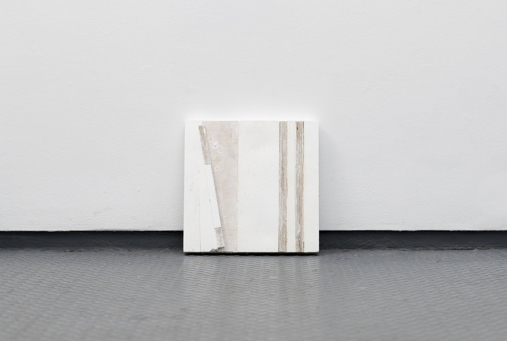 wood and plaster  2017