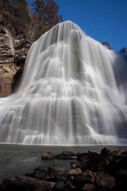Burgess Falls - Pinterest