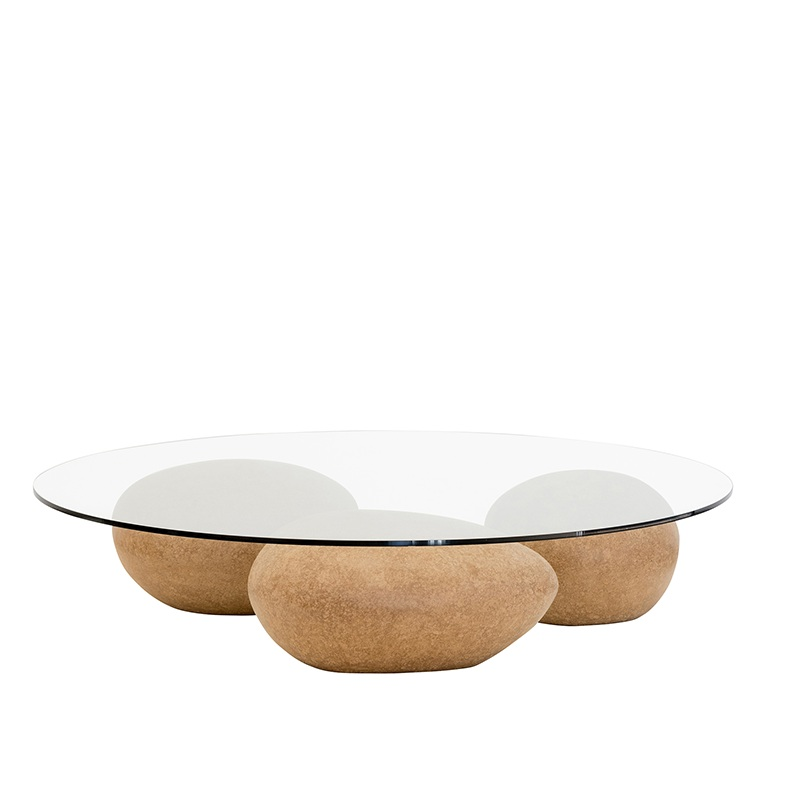 Mesa água coffee table - natural — sossego