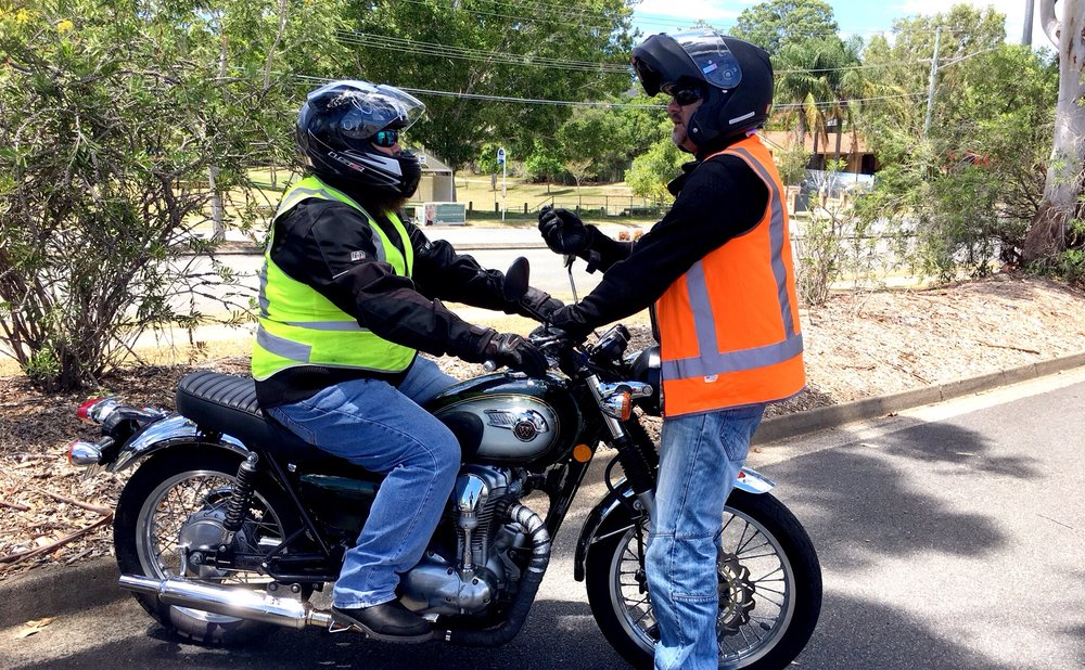 How to get a motorcycle licence