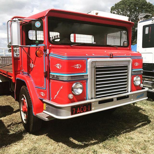 #oldschool #cool #acco #international #truck www.ianwatsonstruck.com