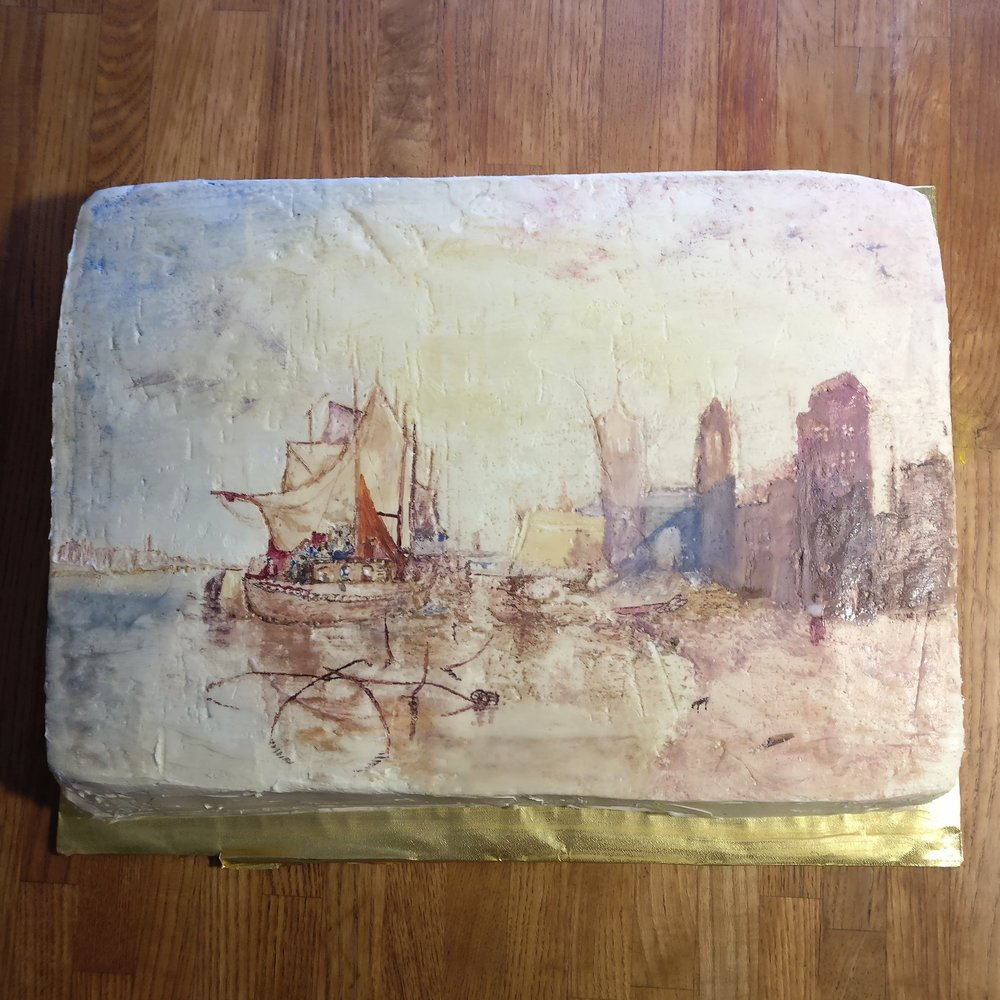 JMW Turner's Cologne cake