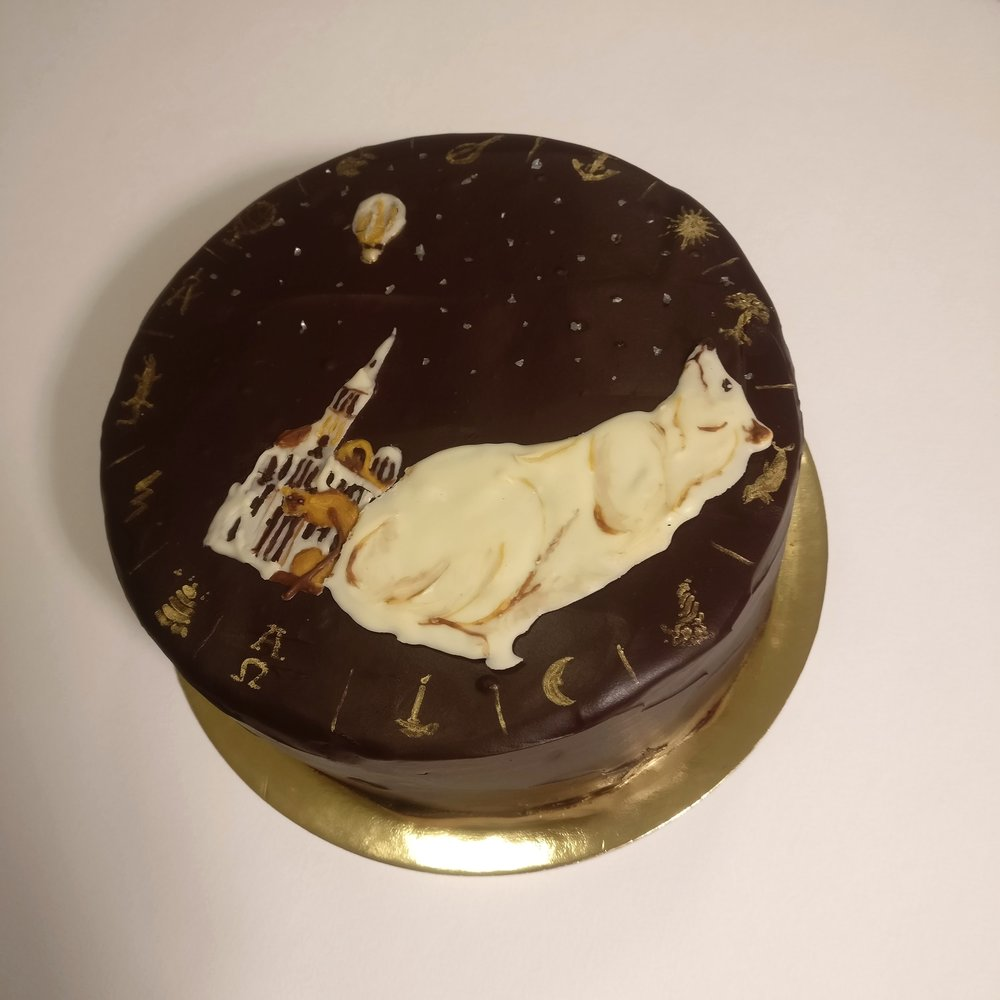 His Dark Materials Cake