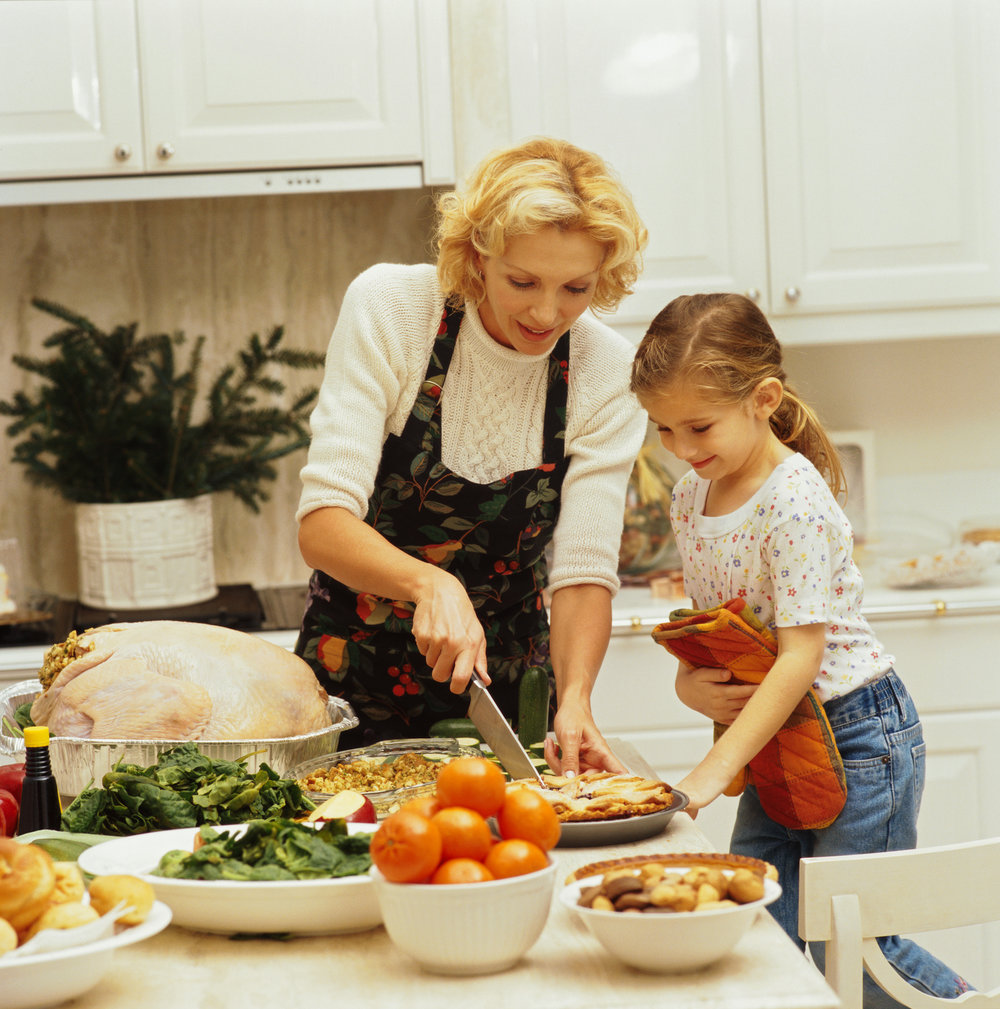 Create memories with your kids, and invite them into the kitchen this Thanksgiving.