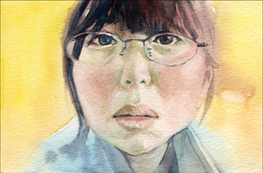 Chang Shuang 常爽 / Watercolor / 4x6 / 2015