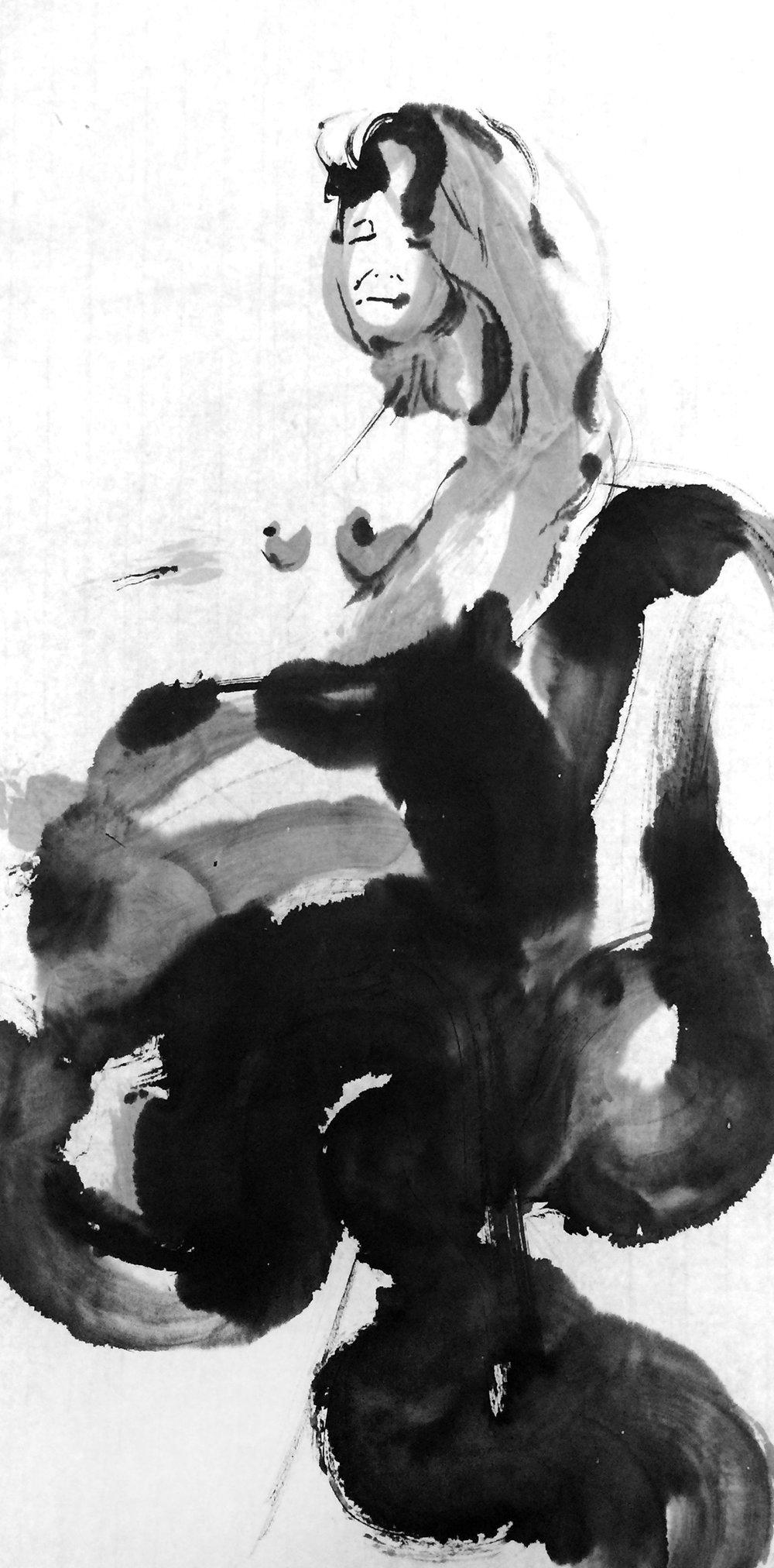 Ten drawings of one woman - IV.jpg