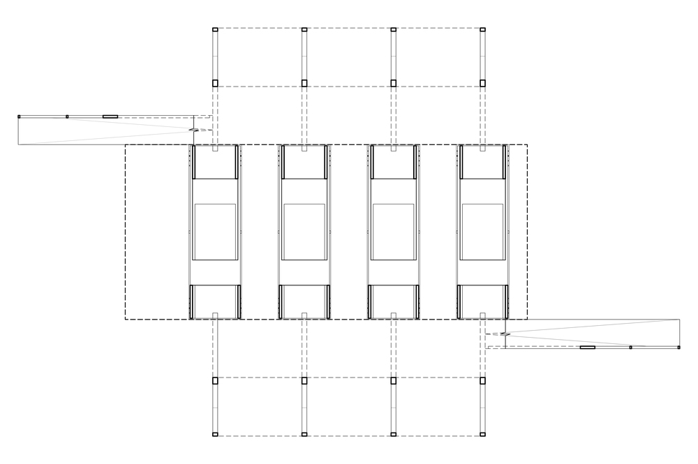 FOUNDATION PLAN   view of jacklifts