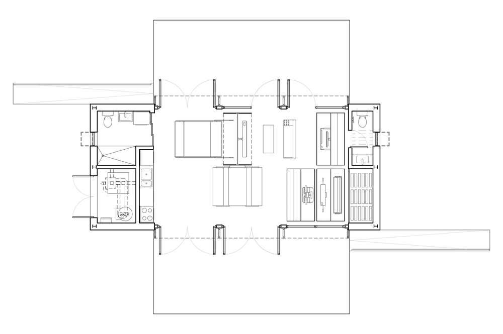 FLOOR PLAN   typical config.