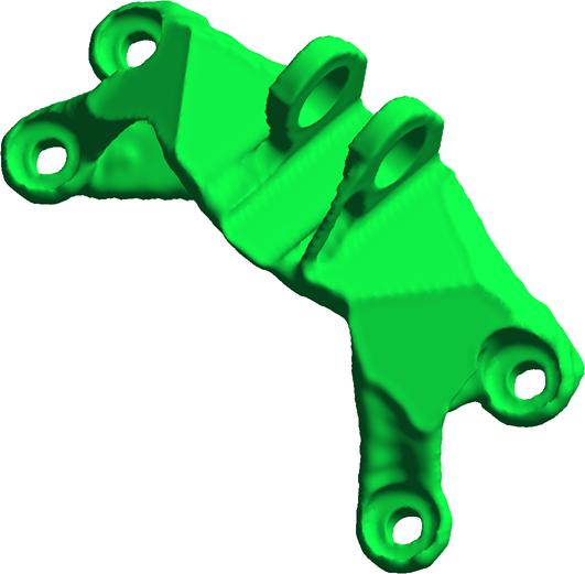 The GE Grabcad Model Optomized in Pareto