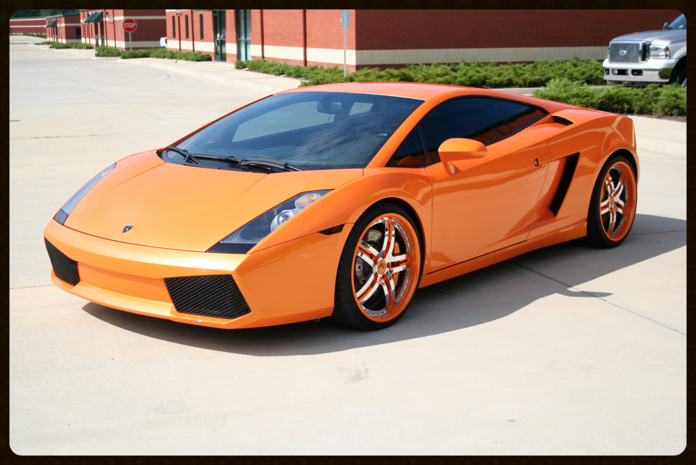 Lamborghini Gallardo...HRE Wheels..Tubi Exhaust...Alcantara Interior...Very Rare Pearl Orange...This Gallardo has MANY MORE Upgrades...Click Here