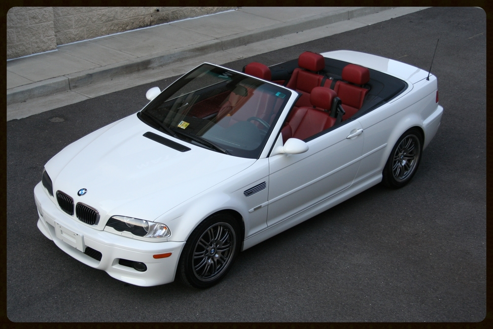2004 E46 M3....VERY RARE Alpine White on Imola Red Interior....Only 29K Original Miles....Click to View More Photos