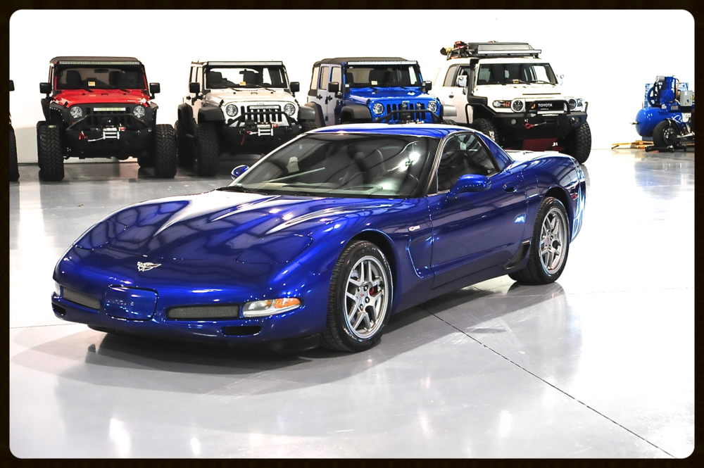 2003 Z06...50th Anniversary...Only 12k Original Miles...Gorgeous Z06 in Pristine Condition. Click to Enjoy Photos and HD Video