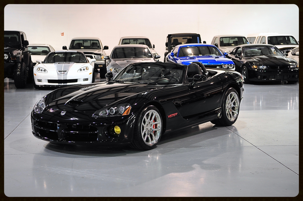 Dodge Viper SRT-10...Triple Black Color...Pristine Condition...Click to Enjoy Photos and HD Video