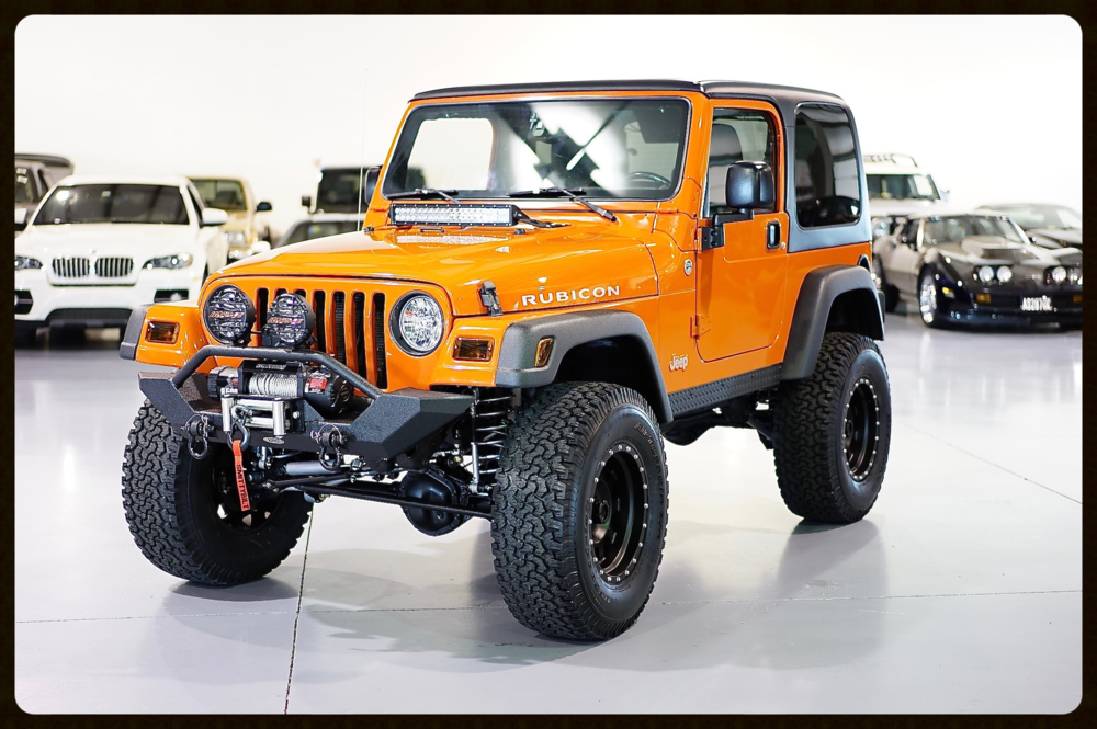 Very Rare 2005 TJ Rubicon with ONLY 19K MILES..Full Rubicon Express Lift with all 8 Adjustable Control Arms. Very Rare opportunity to own a TJ with 19K
