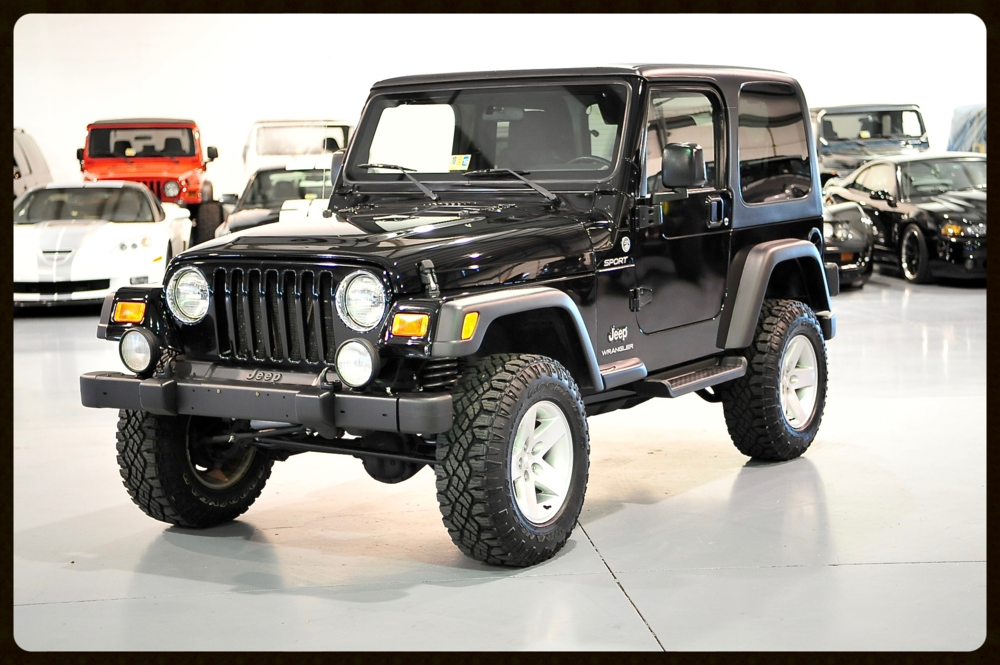 "2006 Wrangler TJ with ONLY 27K ORIGINAL Mile....A true very RARE find. We added a Tasteful 2.5"" Full Suspension Lift, Rubicon Wheels and More"
