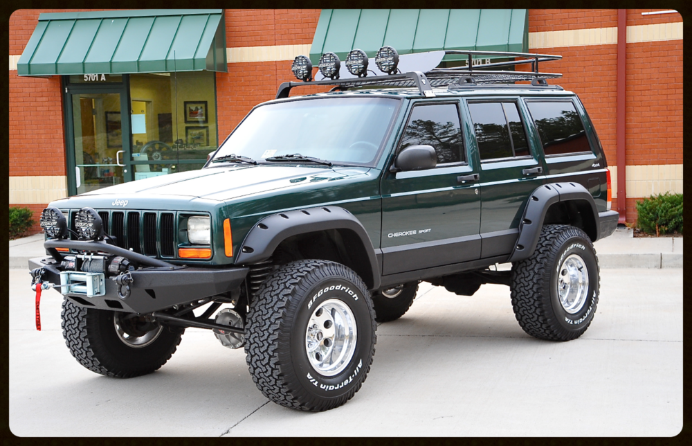 Jeep Grand Cherokee Off Road Bumper >> Lifted Cherokee Sport XJ For Sale - Lifted Jeep Cherokee ...