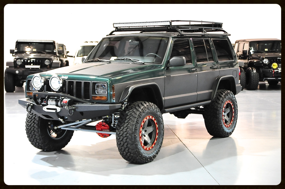 Gorgeous Stage 6 XJ with only 52k Miles...This XJ has it all...Click Here to View the Entire Build Process and Photos and Videos